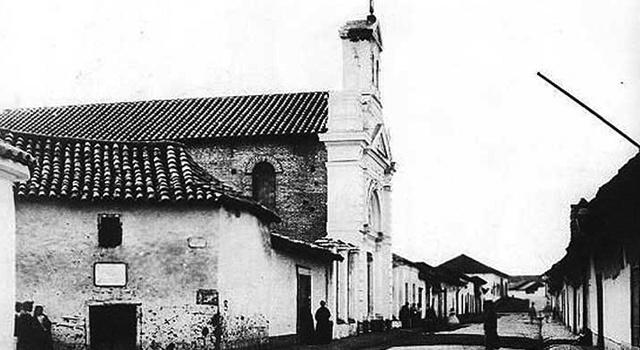 Iglesia de la Vera Cruz. Barrio Lastarria. Santiago