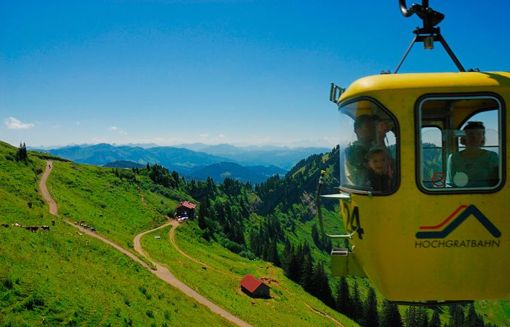 Sommer - Hochgratbahn Oberstaufen-Steibis