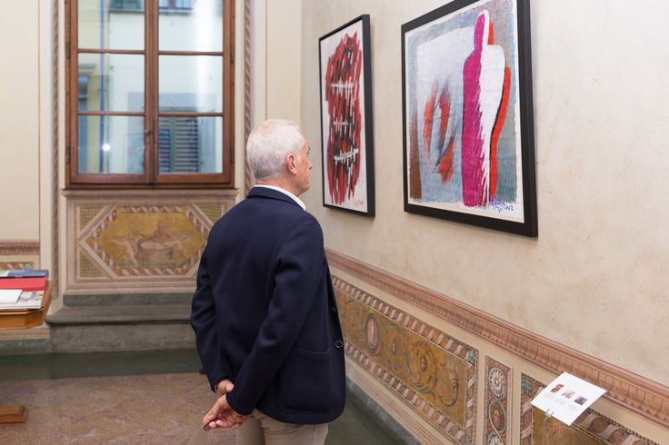 Guest at the Stengel Collection at Palazzo Rosselli del Turco