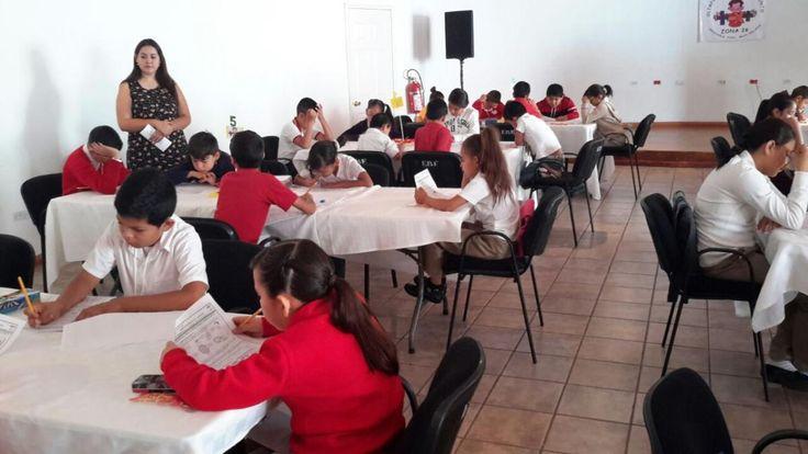 Participan 48 alumnos de distintas primarias en primer Olimpiada de Matemáticas | El Puntero