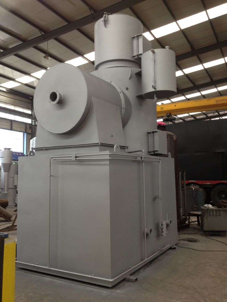LDF-500 Mass Solid Waste Incinerator, 500kgs/batch (with 3D video show)