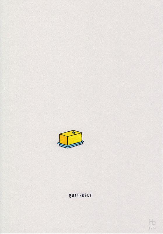 Kleine, süße Illustrationen von Jaco Haasbroek …