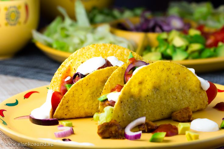 Tacokyckling 4 Port #tacos #taco #texmex #tacokyckling #fredagsmys #slankosund #recept #tacorecept #texmexrecept #recette #recipe #recept