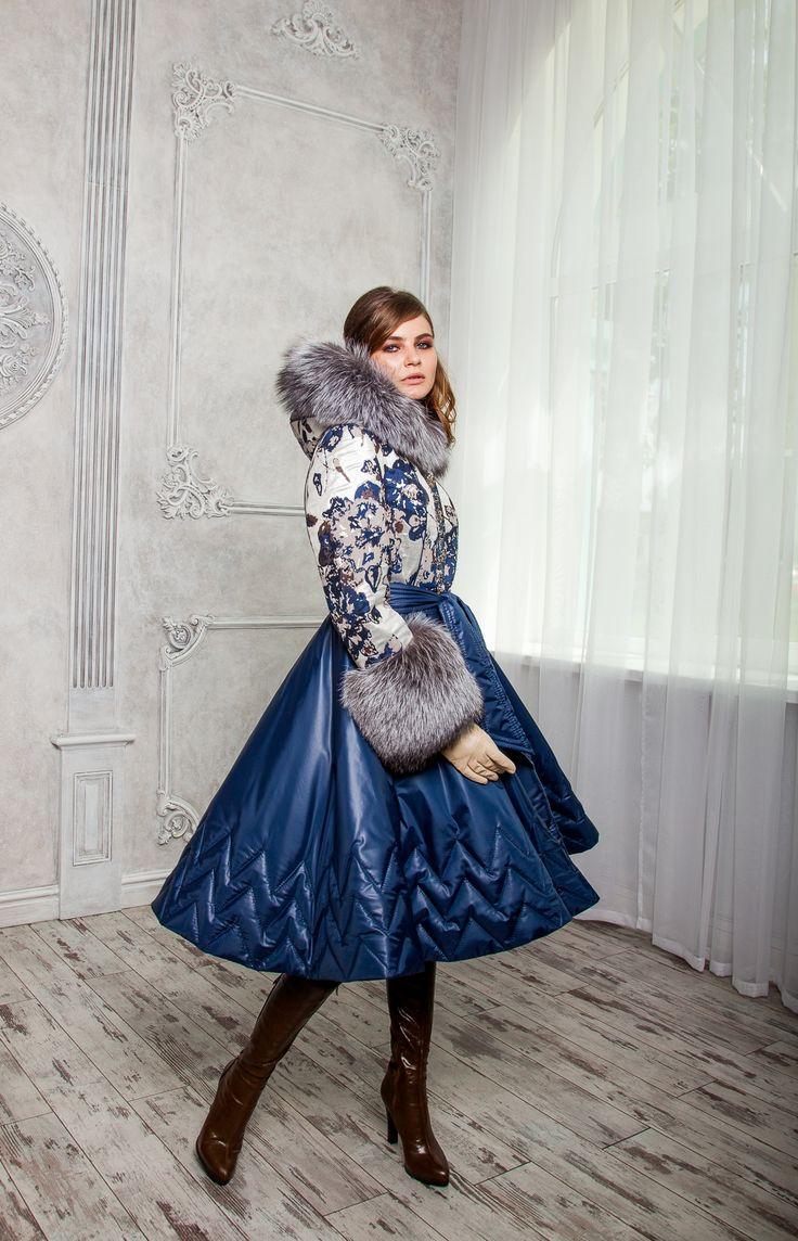 """Зимнее пальто Айна - 2: фото, цена. Индивидуальный пошив в салоне """"Tango"""""""