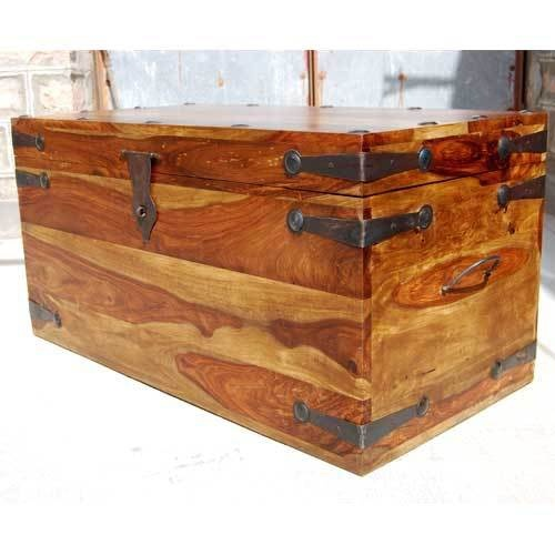 large wooden chest box 3