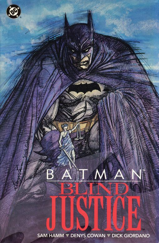 BATMAN: BLIND JUSTICE Cover by Denys Cowan