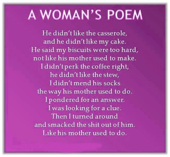 Funny lesbian poems