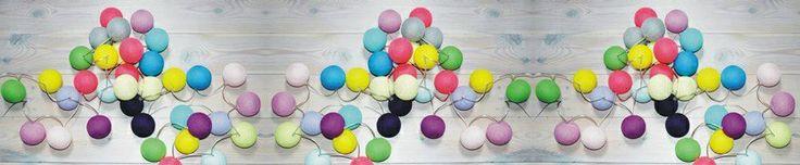 vi på Cotton Ball Lights Sverige önskar alla en färglad och lysande midsommar!  #cottonballights#cottonballs#midsommar#inredning#belysning#fairtrade#harmoni#ljusslinga