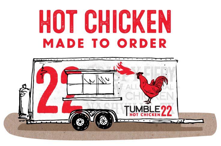 Tumble 22 Nashville Hot Chicken Chicken, Hot, Food truck