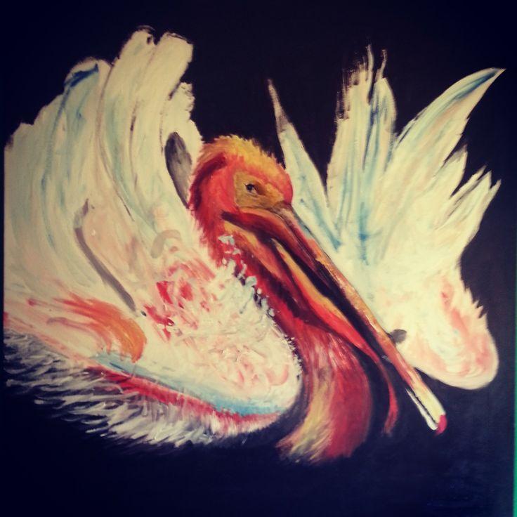 acrylic on canvas 90X80, Kodi 2007