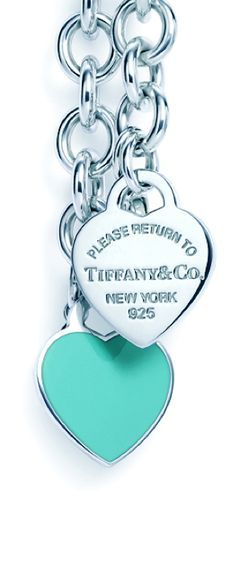 cheap tiffany and co. jewelry, so beauty!$12 I didn't know Tiffany's made things this inexpensive. Idk if I like that it says return though, unless it is referring to me you can return me to tiffanys