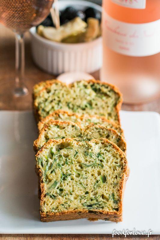 Cake au Pesto, Mozzarella et Épinards - Food for Love
