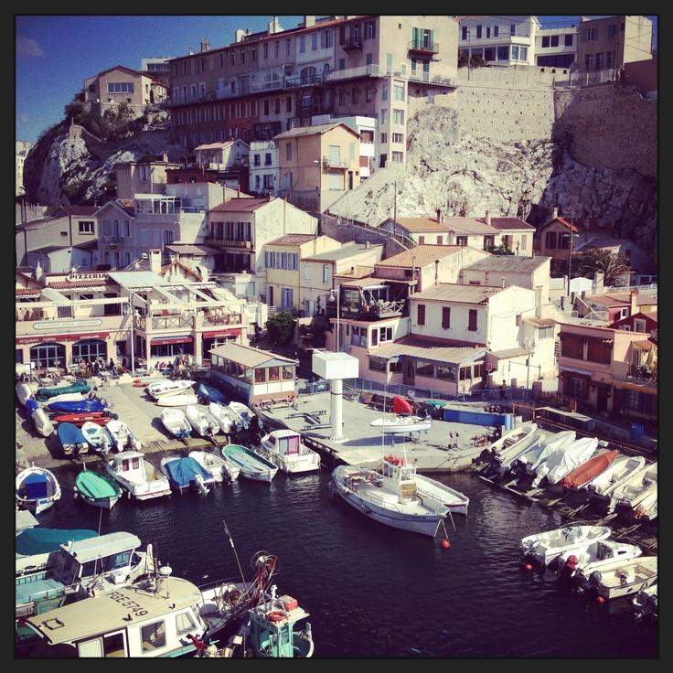 Le Vallon des Auffes, joli port de pêche - Marseille #vallondesauffes #marseille #photographie #ctprod