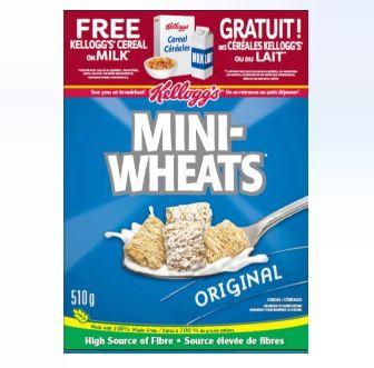 Kellogg's FREE Milk or Breakfast Products