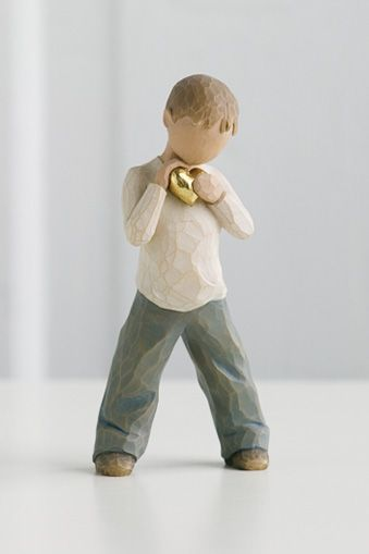 """Anthony""  - Would love a Willow Tree figurine to represent each of the children. Mother's Day idea?"