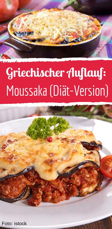 Moussaka mit Hackfleisch, Gemüse und Schafskäse in der Diät-Version – Bild der Frau