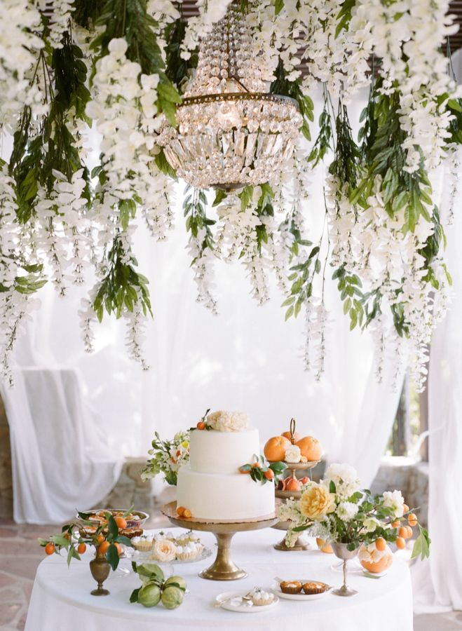 afternoon tewedding theme ideas%0A Citrus Wedding Inspiration with Late Afternoon