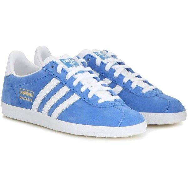 Adidas Gazelle Suede Sneakers ($105) ? liked on Polyvore featuring shoes,  sneakers,