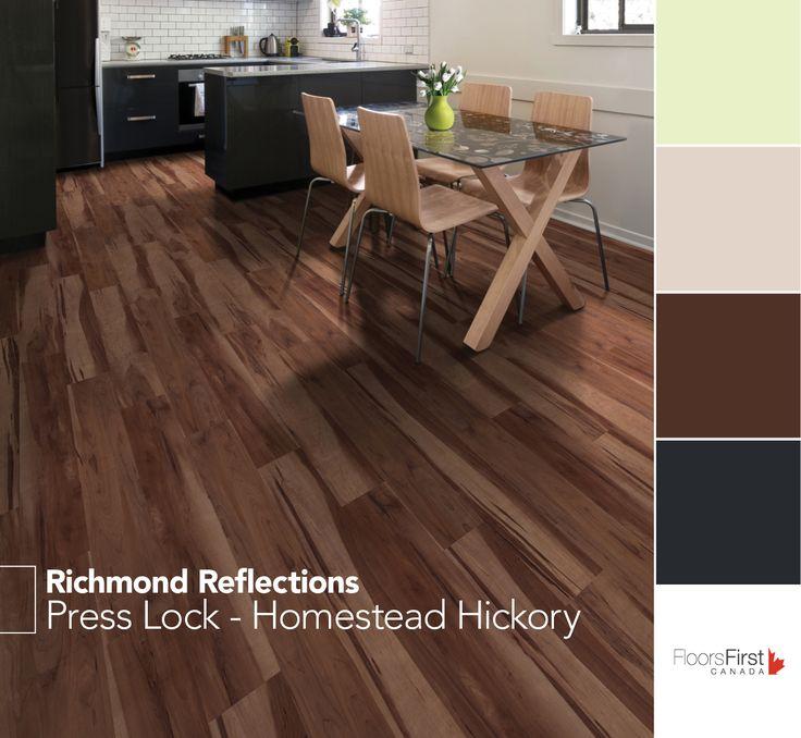 Press Lock From Richmond Reflections Flooring Vinyl Decor Home Condo Kitchen Livingroom
