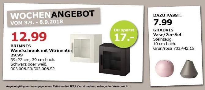 Ikea Kaarst Brimnes Wandschrank Mit Vitrinentur Wandschrank