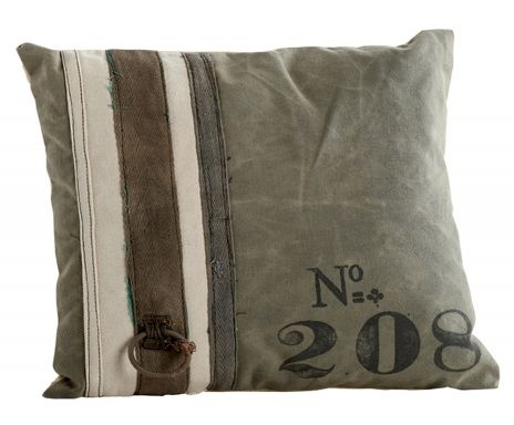 Dialma Brown Urban - Stripes Cushion , cotton - 45*45