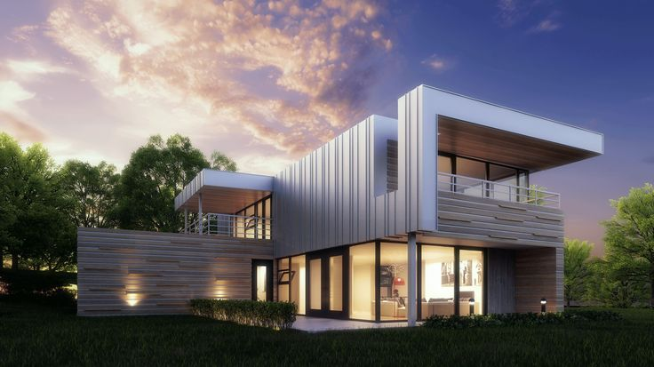 Model 82 / 3 rooms / 2 floors / 2575 sq. ft. - See more at www.BONEstructure.ca