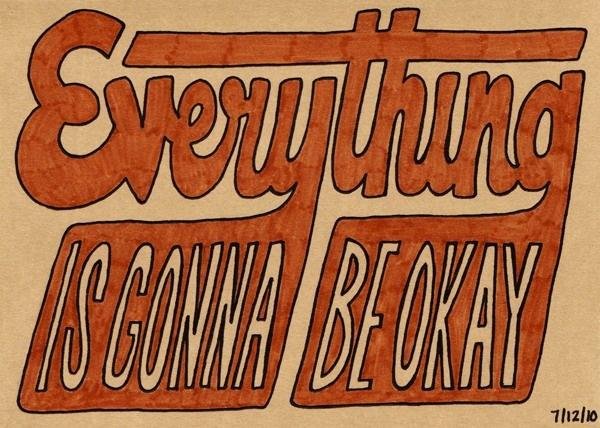 Postcard To My Parents:  Everything is Gonna Be Okay: Freelance Design, Design Blenders, Design Projects, Web Design, Hands Types, Freelance Web, Graphics Design, Photo, Design Blog