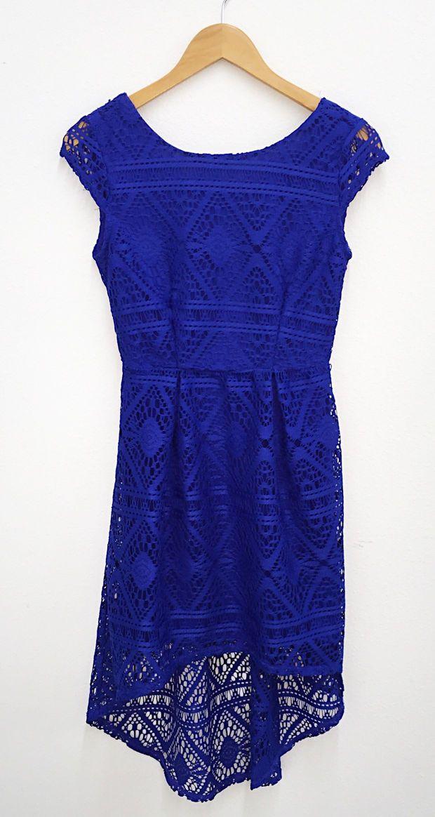 Crochet High Low Dress