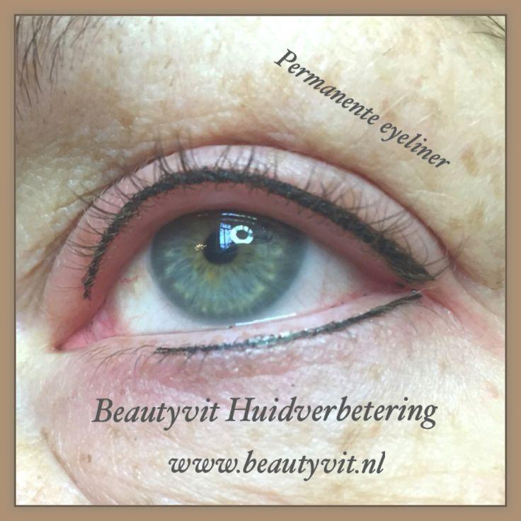 Permanente eyeliner boven en onder. Beautyvit Huidverbetering dreef 10 4813eg Breda 076-5223838 www.beautyvit.nl info@beautyvit.nl