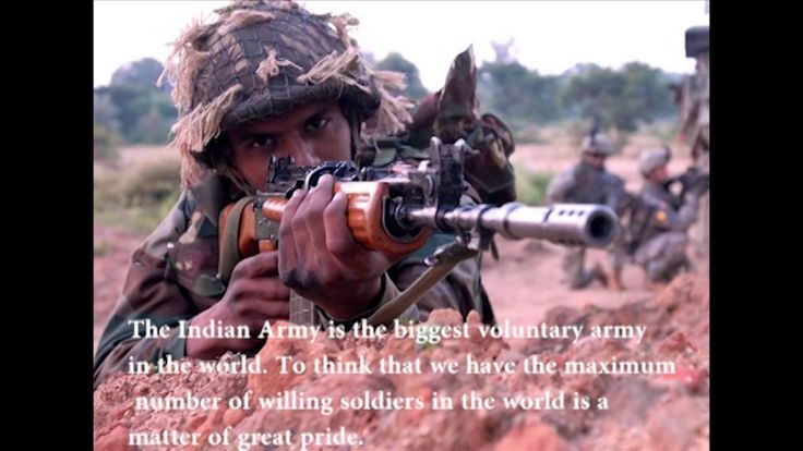 Interesting facts about indian army that will make you feel proud.