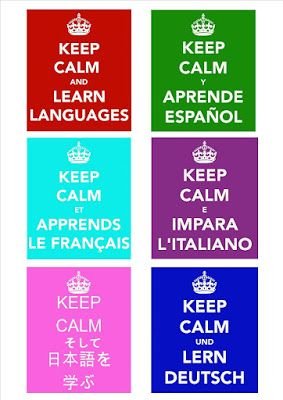 Languages @ Tile Hill Wood School: Keep calm and learn languages