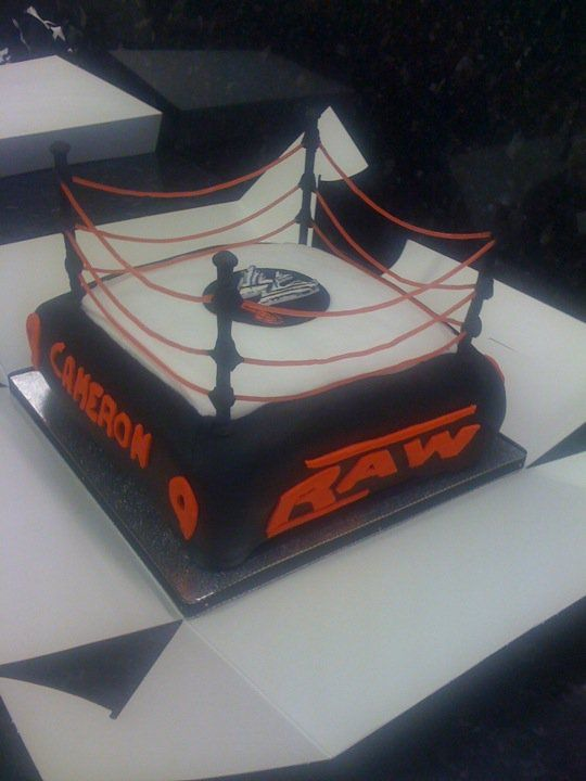 Edible Cake Images Wwe : 17 Best images about WWE party ideas on Pinterest ...