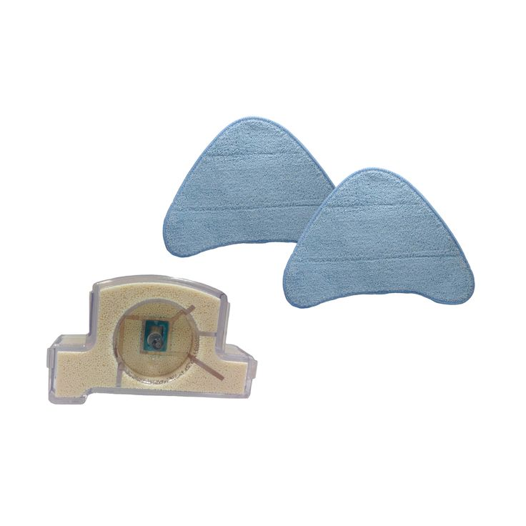 Crucial 2 Hoover WH20200 Steam Mop Pads and Hard Water Filter Part # WH01000 440001633