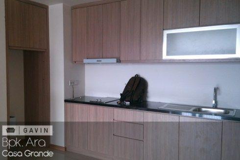 lemari dapur apartment minimalis ara-gavin