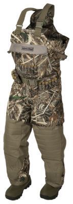 Banded Black Label Breathable Insulated Boot-Foot Chest Waders for Men  - Realtree Max-5 - 8/Regular