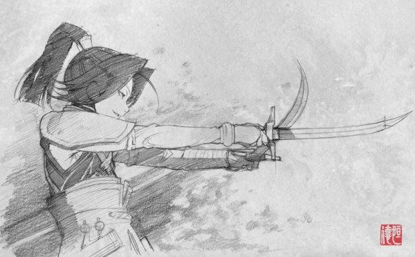 Sword of The Stranger concept art 8