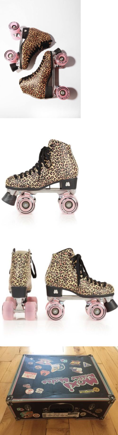 Women 16261: Nib 2016 Riedell Moxi Ivy Brown Leopard Women S Indoor Outdoor Roller Skates 7M -> BUY IT NOW ONLY: $199.99 on eBay!