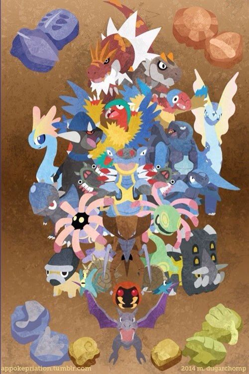 25 best fossil pokemon ideas on pinterest all fossil - Fossile pokemon diamant ...