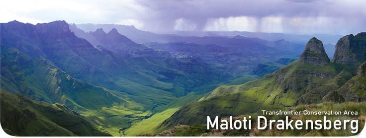 Maloti Drakensberg - Transfrontier Conservation Area