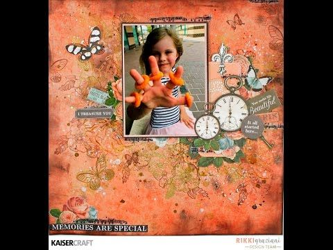 Memories are Special Video Tutorial by Rikki Graziani – Kaisercraft Official Blog