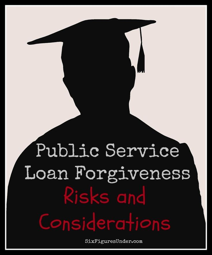 The Public Service Loan Forgiveness program may sound great, but take a good look at these risks and considerations before putting all your eggs in the PSLF basket.