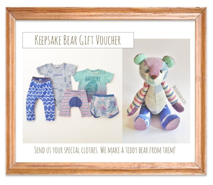 Keepsake Teddy - available in 2 sizes - to say I love you - Gifts