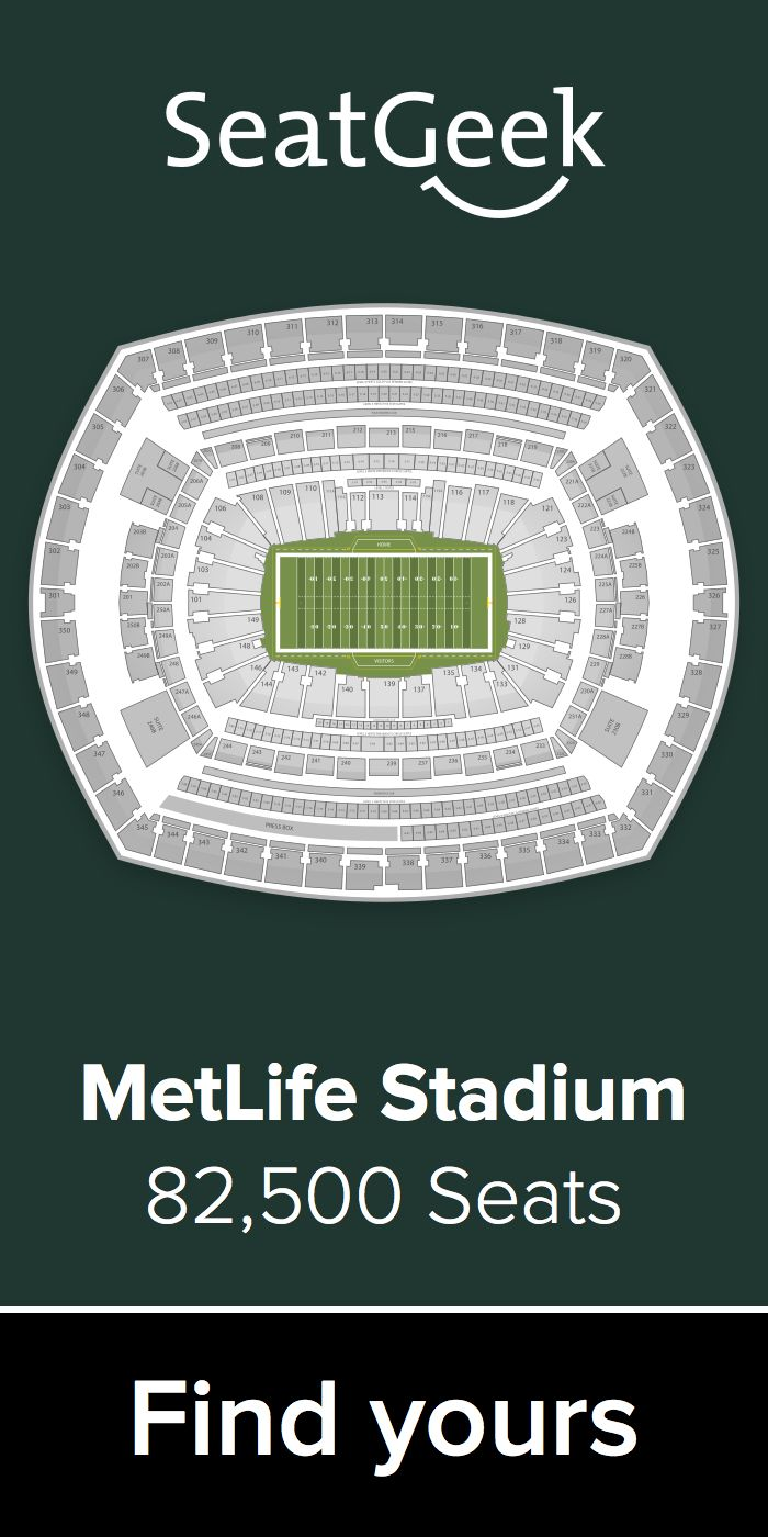 The best deals on Jets tickets are on SeatGeek!