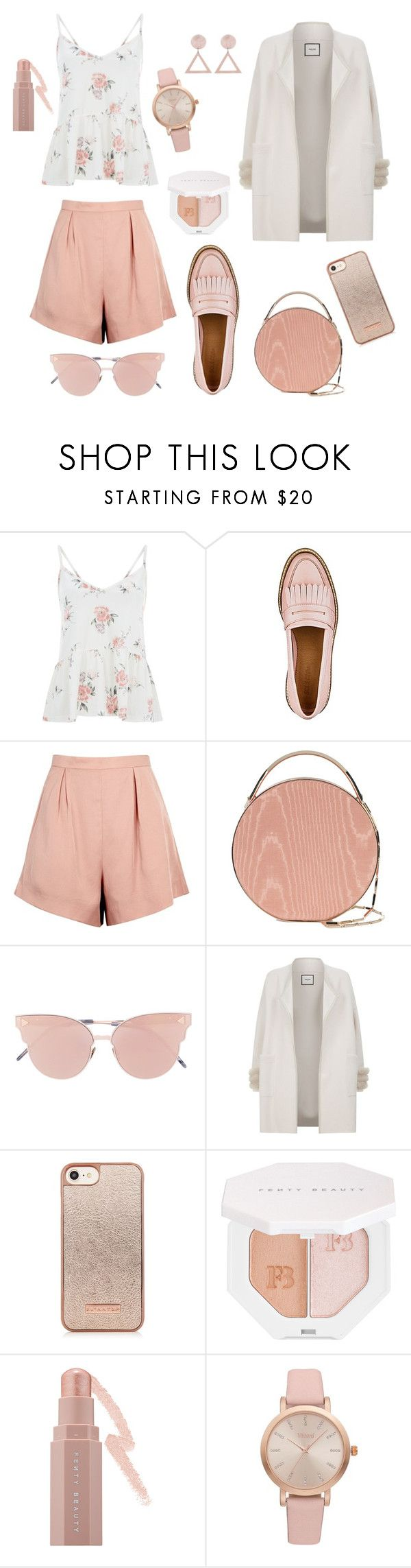 """Untitled #334"" by inesgenebra on Polyvore featuring Finders Keepers, Eddie Borgo, So.Ya, Max & Moi, Puma and Vivani"