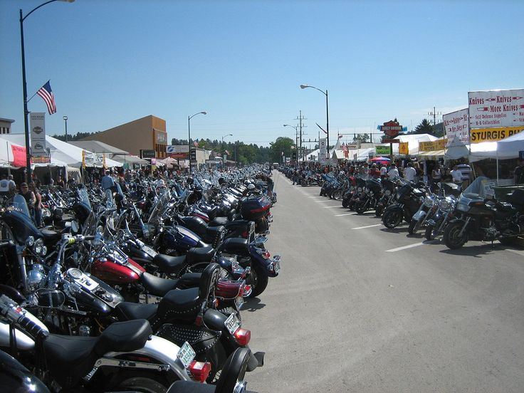 Sturgis Rally Webcams   Motorcycle Blog of Leatherup.com