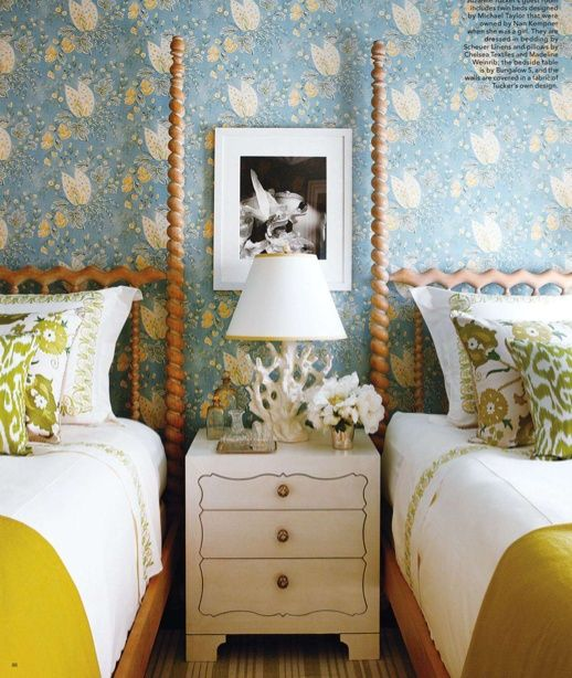 25+ Best Ideas About Two Twin Beds On Pinterest