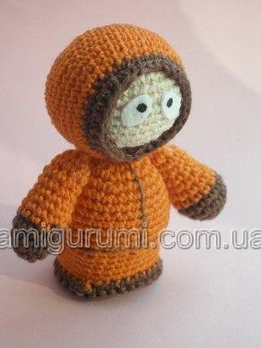 DIY Amigurumi Kenny in South Park - FREE Crochet Pattern / Tutorial