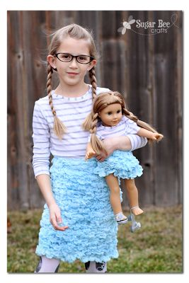 The Cotton Candy Skirt ~ Sugar Bee Crafts
