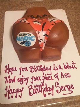 pussy and dick birthday cakes
