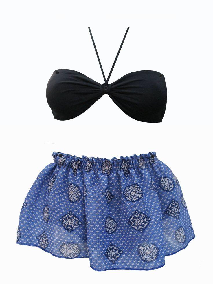 le maillot Cervidé à porter de quatre façons différentes.http://bodylove.ma/portrait-133-0-beachwear-0.html